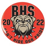 3 in. Custom Button - Bulldog Pride