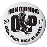 "3"" Custom Button - Homecoming Eagles"