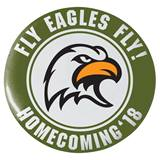 3 in. Custom Button - Homecoming 2018