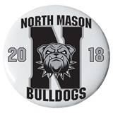 3 in. Custom Button - Bulldogs 2018