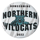 "3"" Custom Button - Homecoming Wildcats"
