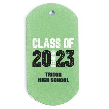 Full-color Custom Dog Tag with Personalization - Class of