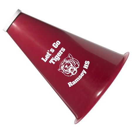 Custom Spirit Megaphone with Cap
