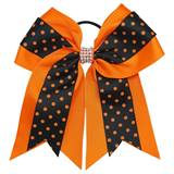 Spirit Hair Tie - Orange/Black