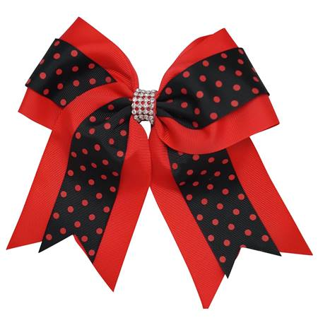 Spirit Hair Tie - Red/Black