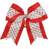 Spirit Hair Tie - Red/White