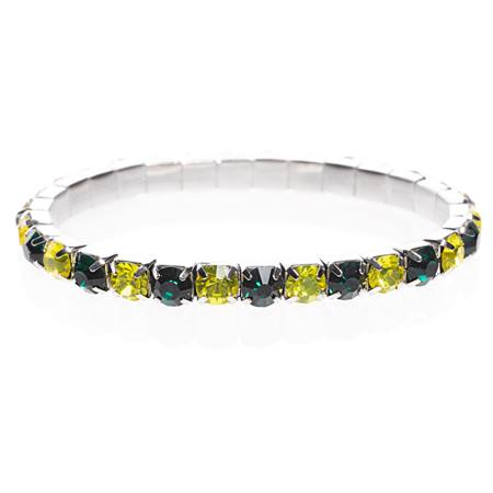 School Spirit Bracelet - Green/Gold