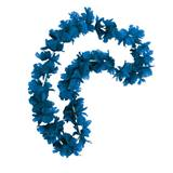 Blue Silk Spirit Lei