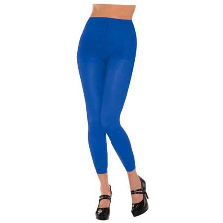 Blue Footless Spirit Tights