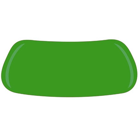 Green Solid Colored Eyeblack