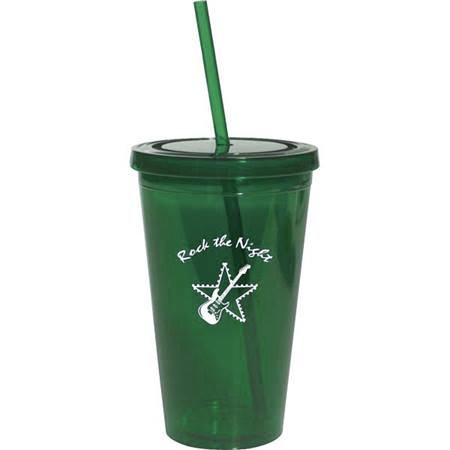 Hunter Green 16 oz. Tumbler with Lid
