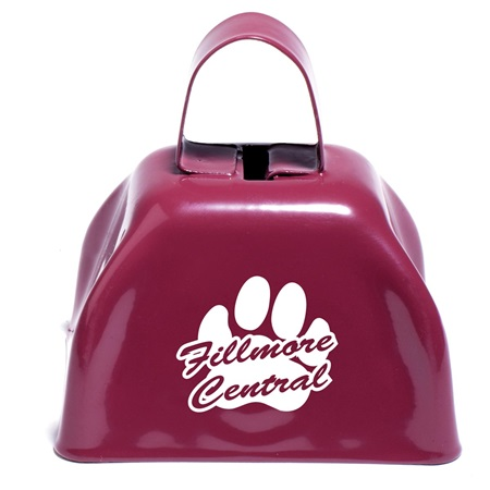 Maroon Cow Bell