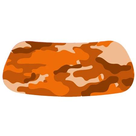 Orange Camo Eyeblacks