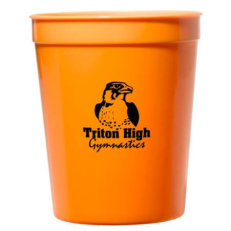 Orange 16 oz. Stadium Cup