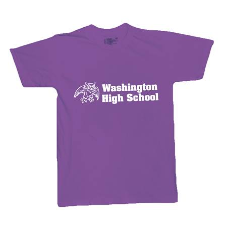 Purple Custom Imprinted T-Shirt