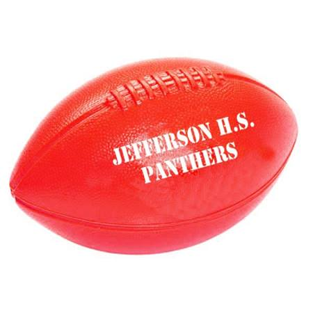 Red Plastic Football