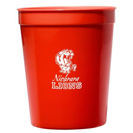 Red 16 oz. Stadium Cups