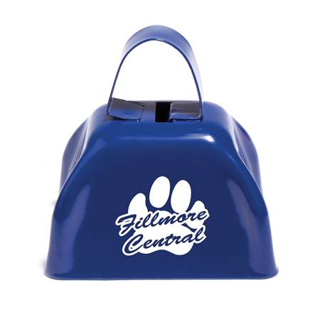 Royal Blue Cow Bell