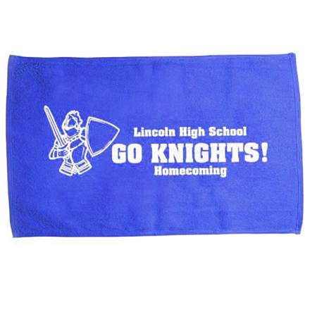 Royal Blue Spirit Rally Towel