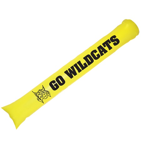 Yellow Noisemaker Cheer Sticks