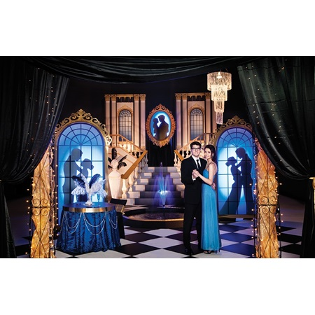 Mansion of Romance Complete Prom Theme