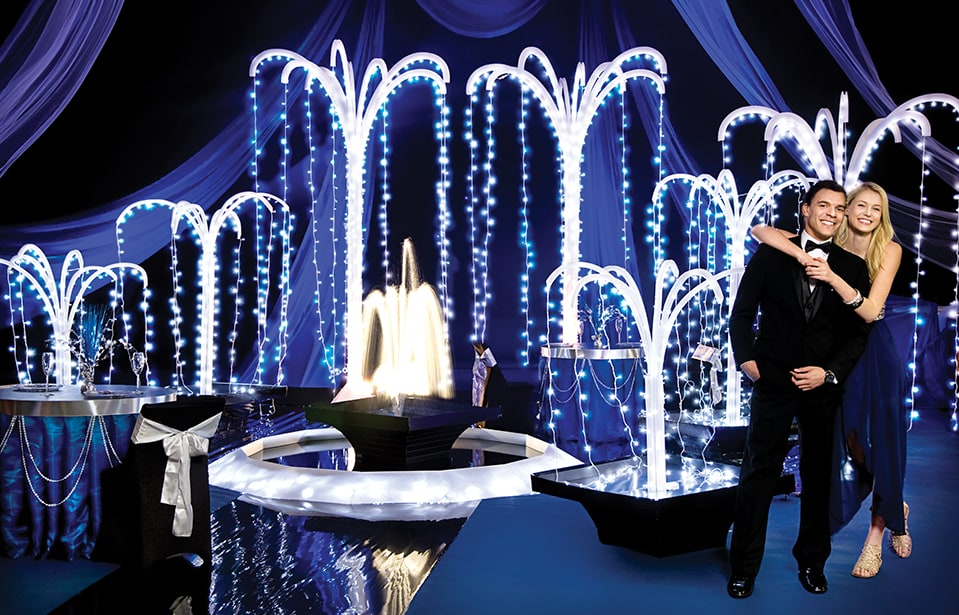 Chasing Waterfalls Complete Prom Theme   Anderson's