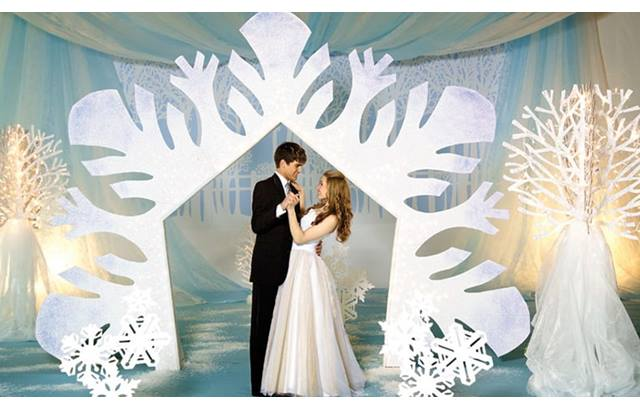 snowflake soiree complete theme anderson s