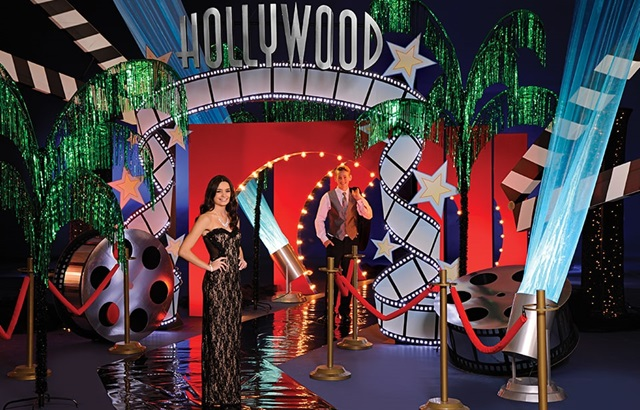 Hollywood Party Complete Theme