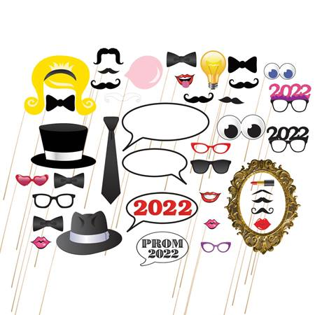 Assorted 2019 Photo Prop Kit