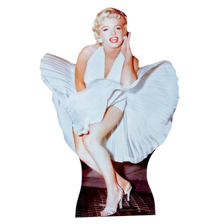 Marilyn Monroe Photo Op - White Dress