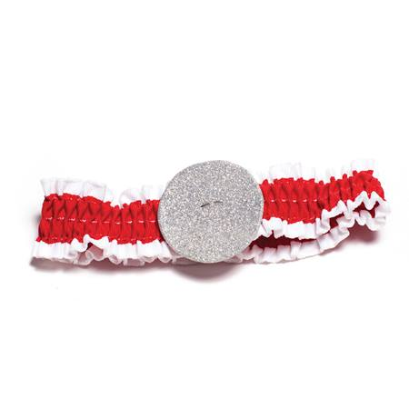 Red and White Arm Band