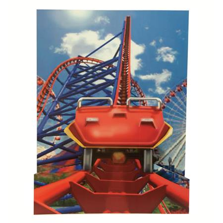 Roller Coaster Photo Prop