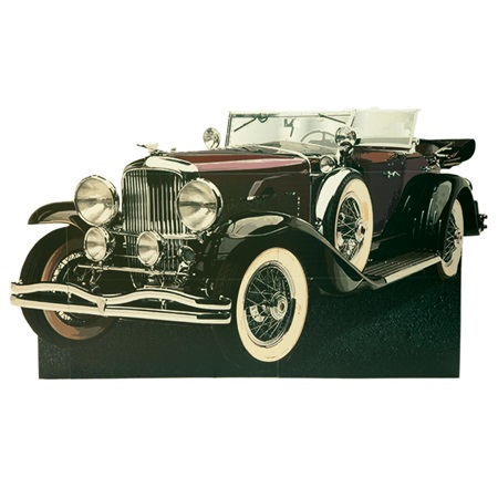 Red Gatsby Car Photo Prop