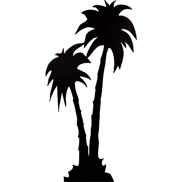 Palm Tree Silhouette Theme Kit