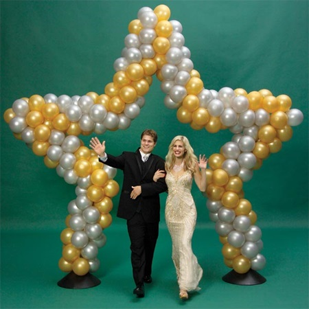 Star balloon arch anderson 39 s for 7 star balloon decoration
