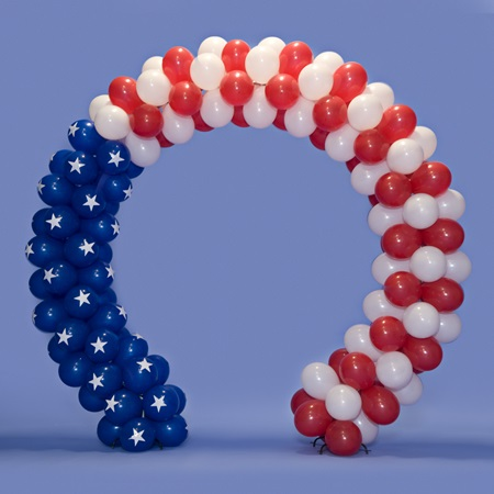 Stars and Stripes Balloon Arch Kit