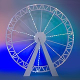 Futuristic Ferris Wheel Kit