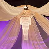 Summer Garden Chandelier Canopy Kit