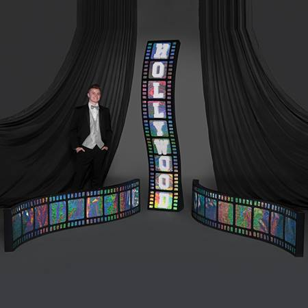 Holographic Hollywood Filmstrips Kit (set of 3)