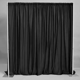 Easy-up Fabric Backdrop - Black