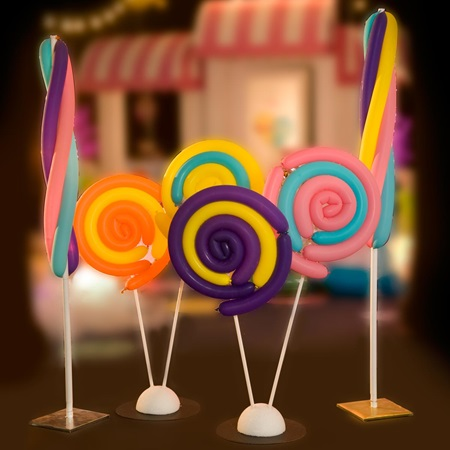 Sweet Treats Balloon Stands Kit (set of 4)