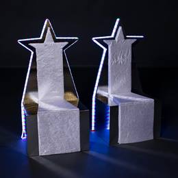 Lighted Regal Thrones Kit (set of 2)
