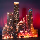 Skyline Scene Right Buildings Kit