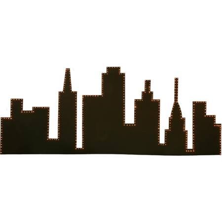 City Skyline Silhouette Kit