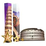 World Travellers Columns and Silhouette Kit