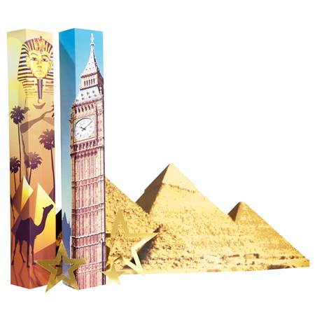 Around the World Columns and Silhouette Kit