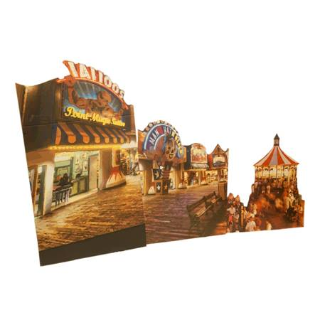 Small Boardwalk Buildings Kit (set of 3)