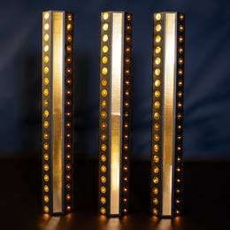 Disco Inferno Lighted Columns Kit (set of 3)