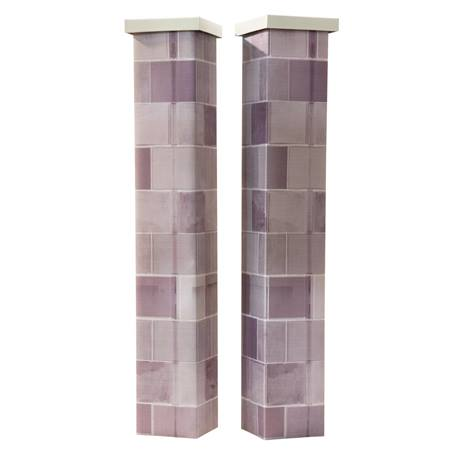 Ritzy, Nifty Brick Columns Kit ( Set of 2 )