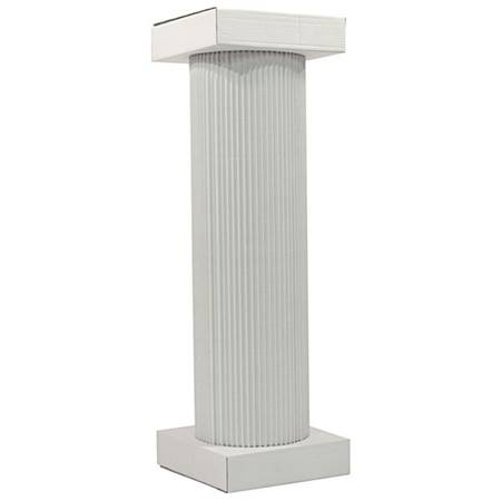 White Traditional Column - 4 ft.